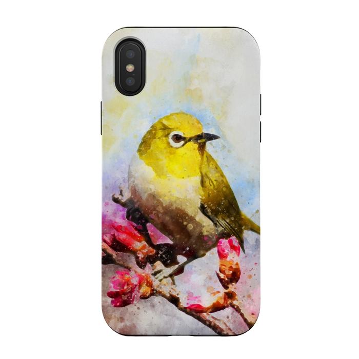 Watercolor Yellow Bird