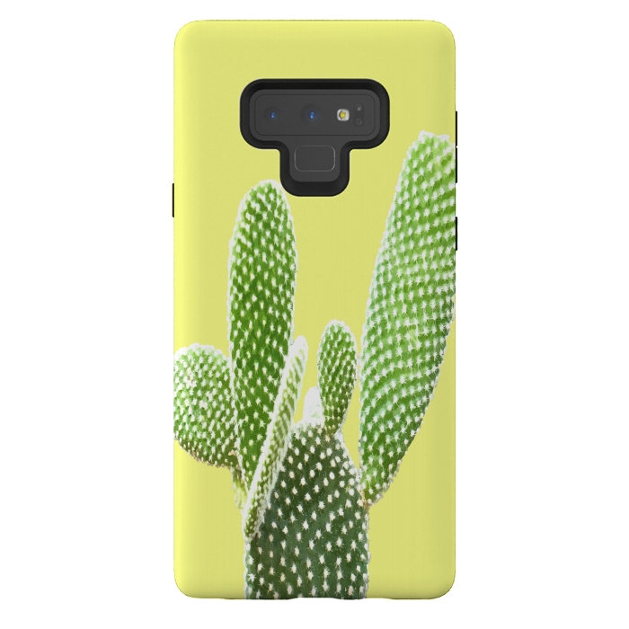 Cactus Yellow Background