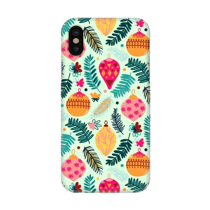 Christmas Iphone X Case.Iphone X Cases Colorful Christmas By Tigatiga Artscase