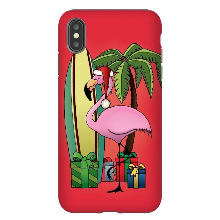 Xmas Flamingo