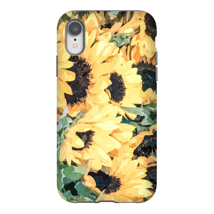 iPhone Xr Cases Yellow Sunflower by Creativeaxle