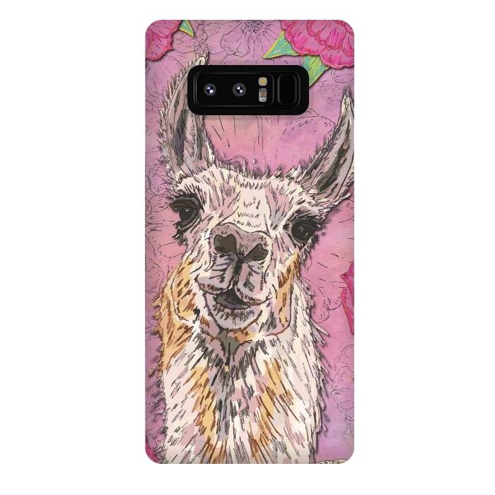 Perfectly Pink Llama