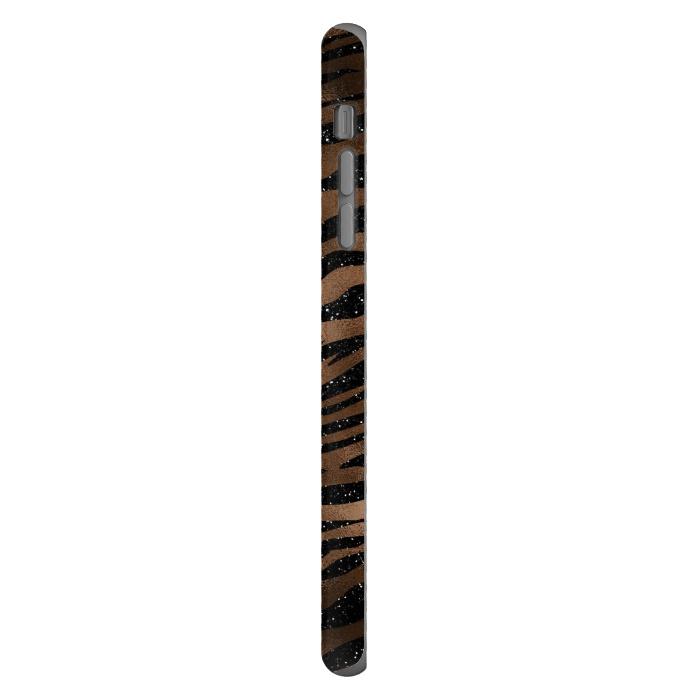 Jungle Journey - Copper Safari Tiger Skin Pattern