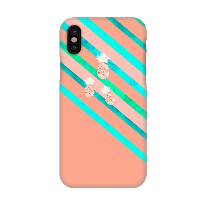 low priced c6ea3 e751f iPhone X Cases Peach and by Amaya Brydon   ArtsCase