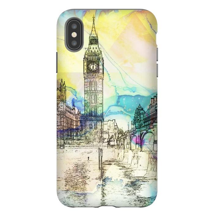 Big Ben travel sketch, London United Kingdom