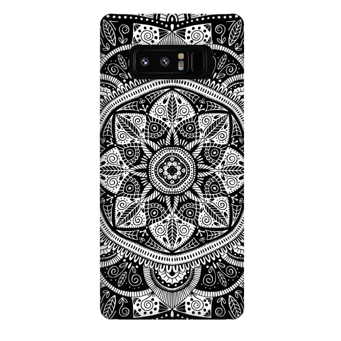 Black and White Mandala 011