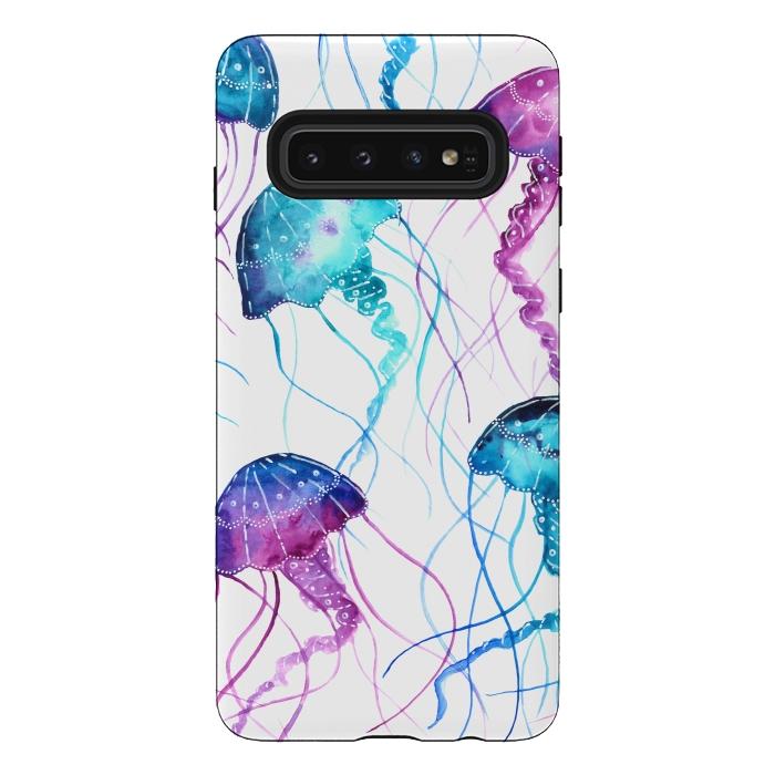 Watercolor Jellyfish Print