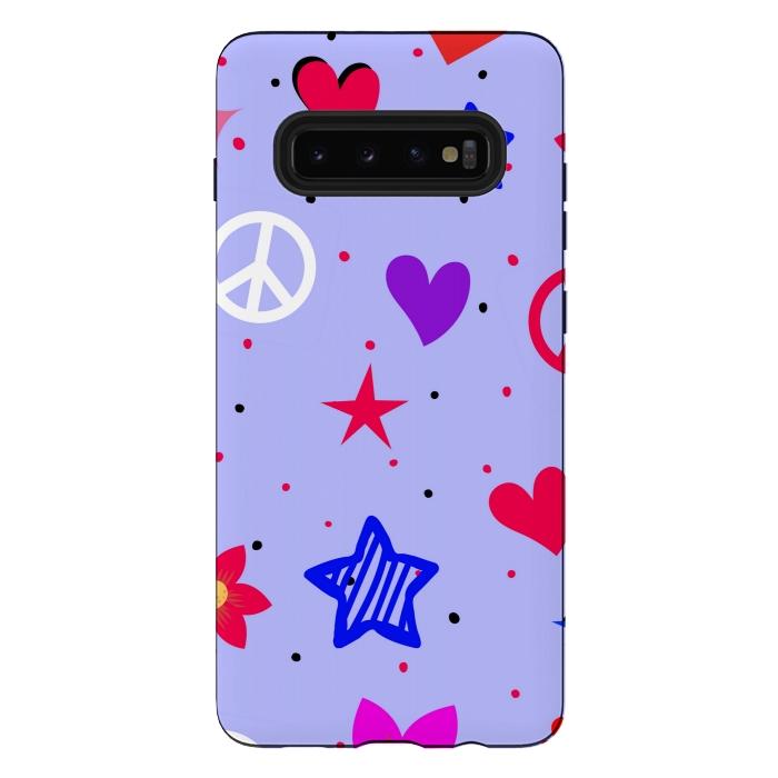 PEACE LOVE PURPLE