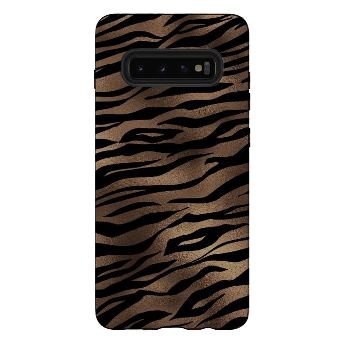 Mocca and Black Tiger Fur
