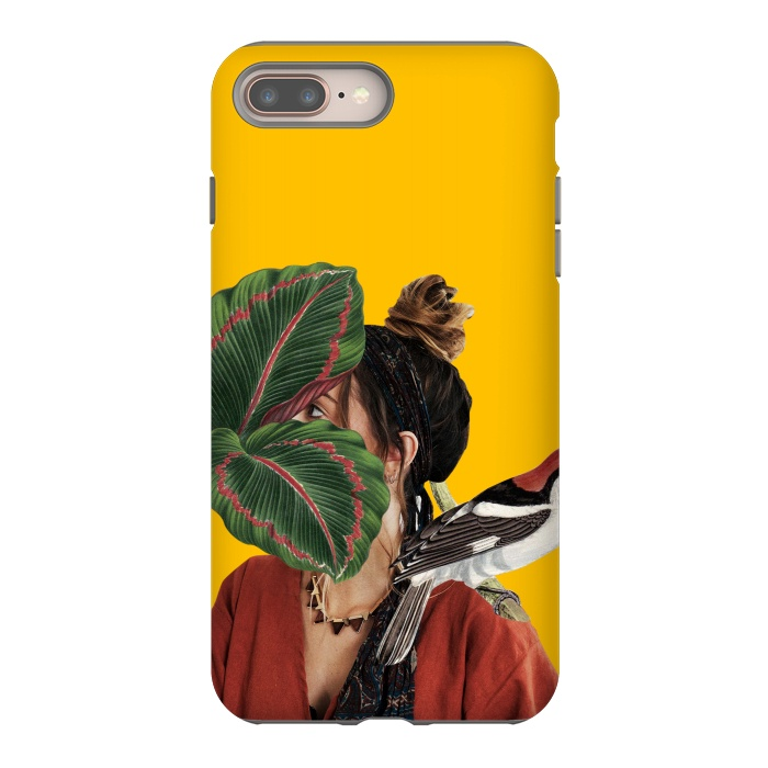 Girl with the bird