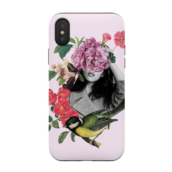 Floral Girl & Bird