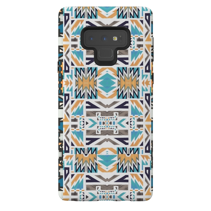 Colorful geo tribal pattern