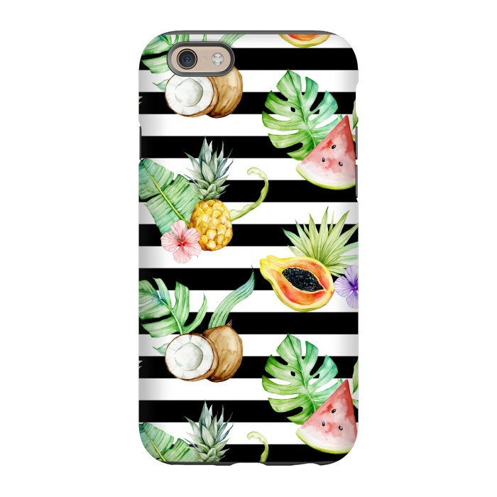 Tropical Fruits Stripes