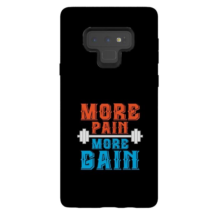 more pain more gain