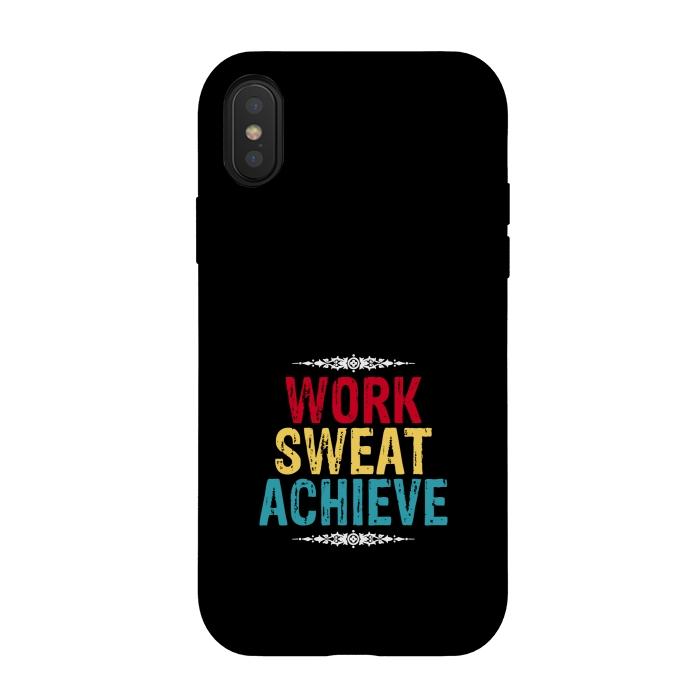 work sweat achieve