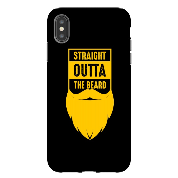 straight beard yellow