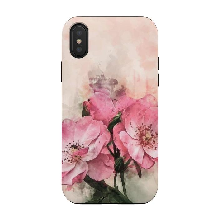 Vintage Pink Flower
