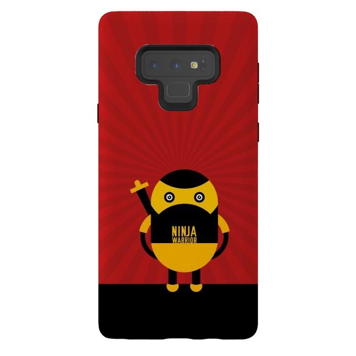 ninja warrior red