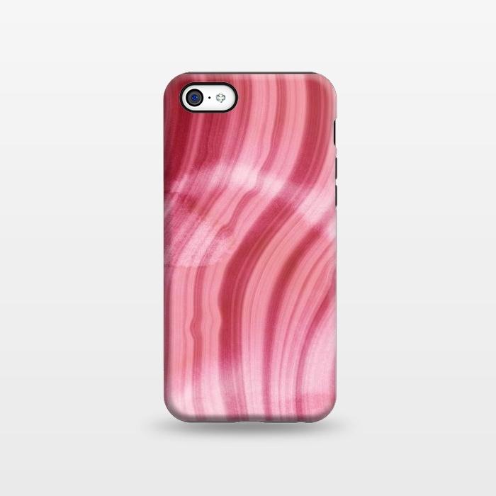 Pink Mermaid Waves Marble