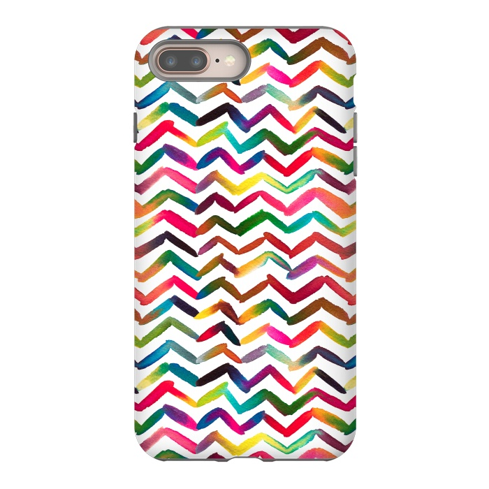 Chevron Stripes Multicolored