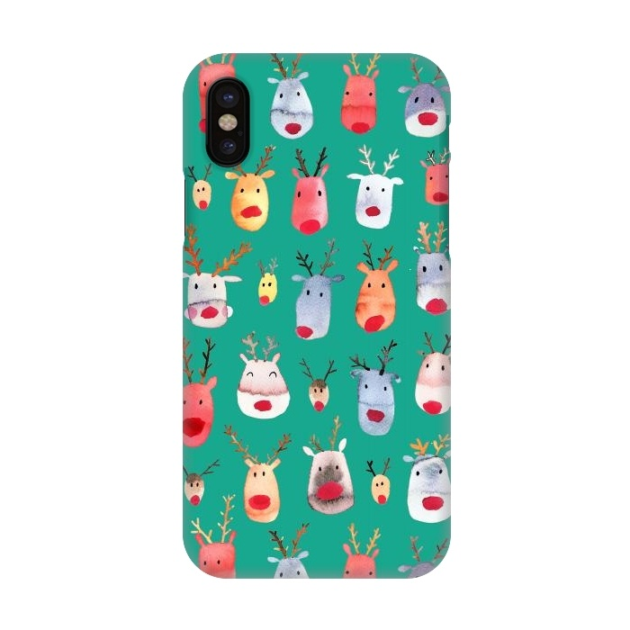 Christmas Iphone X Case.Iphone X Cases Christmas Winter By Ninola Design Artscase