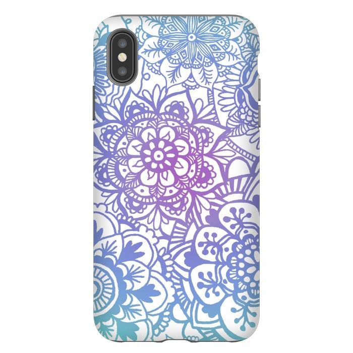 Pastel Purple and Blue Mandala Pattern