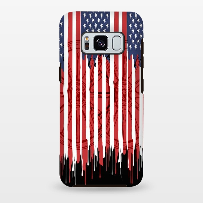 American flag patriotic design usa
