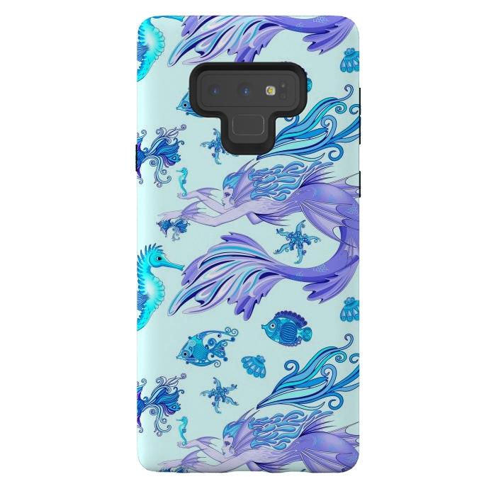 Mystic Mermaid Fairy Purple Creature
