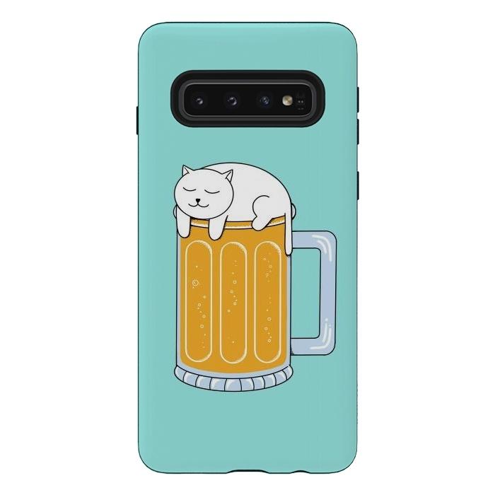 Cat Beer Green