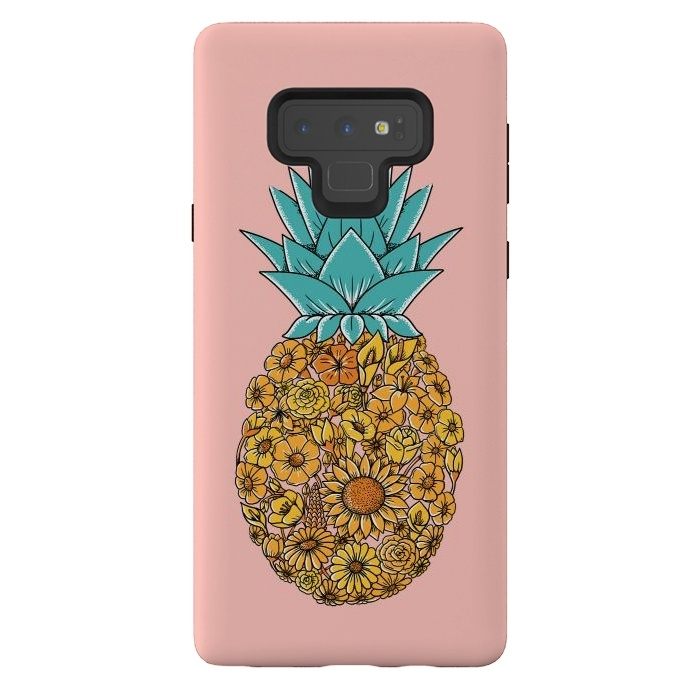 Pineapple Floral Pink