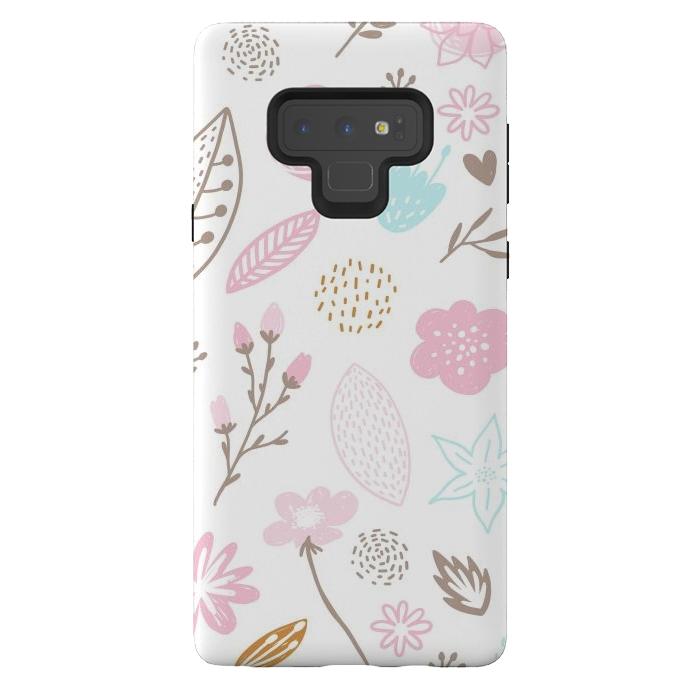 multi floral pattern x