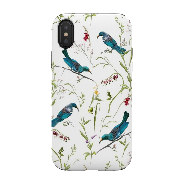 Birds in flowers
