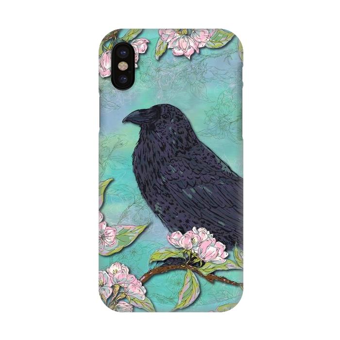 Raven & Apple Blossom