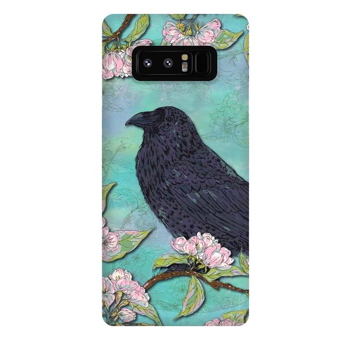 Raven & Apple Blossom