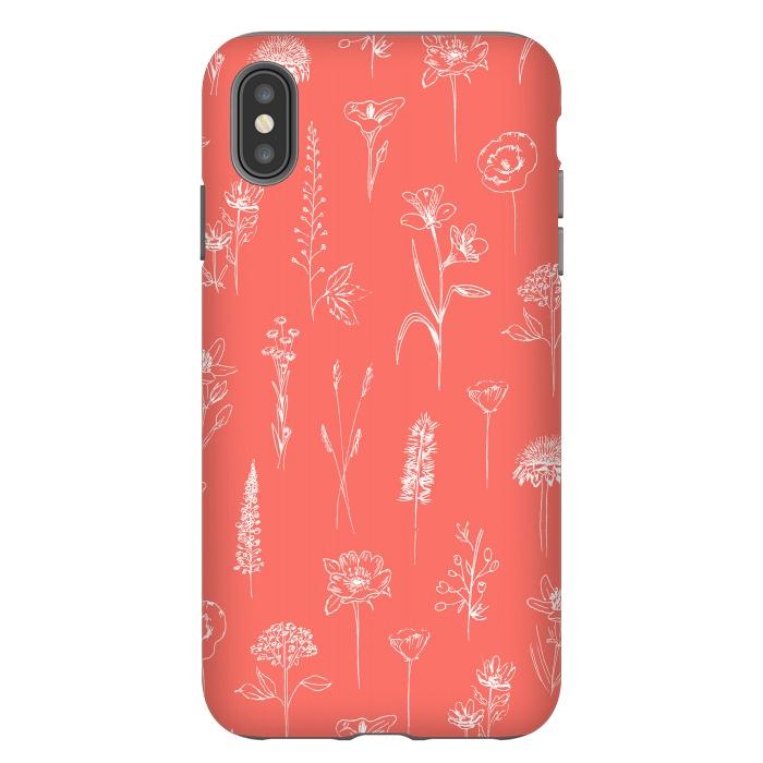 Patagonian wildflowers - Coral