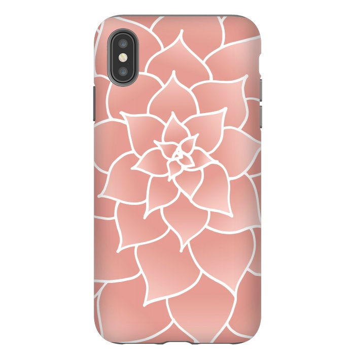 Abstract Modern Pink Rose Flower