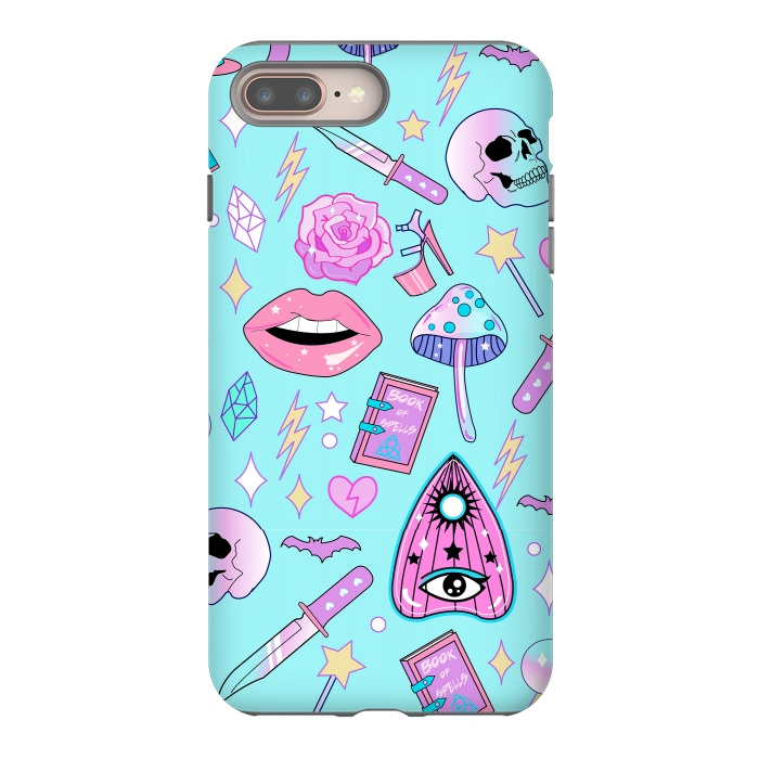 Girly Pastel Goth Witchy Kawaii Pattern