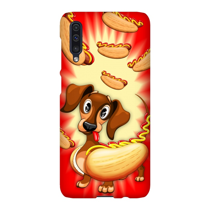 Dachshund Hot Dog Cute and Funny Character