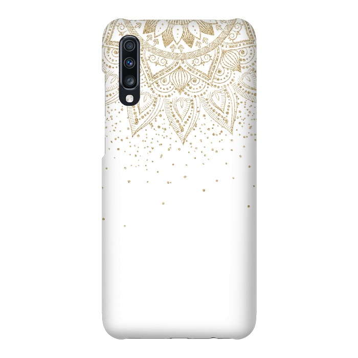 Elegant Gold Mandala Confetti Design