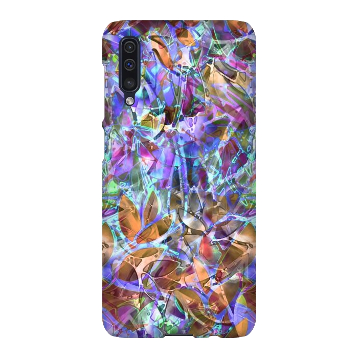 Floral Abstract Stained Glass G268