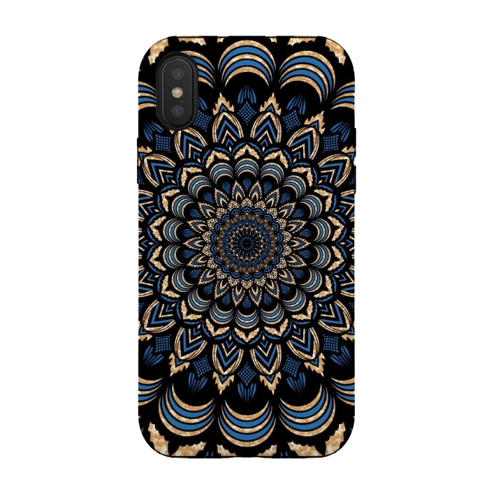 Dark blue mandala