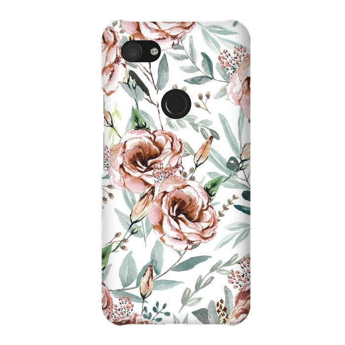 Floral Explosion White
