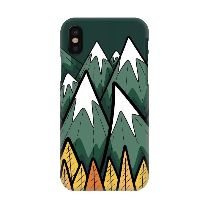 The green autumn peaks