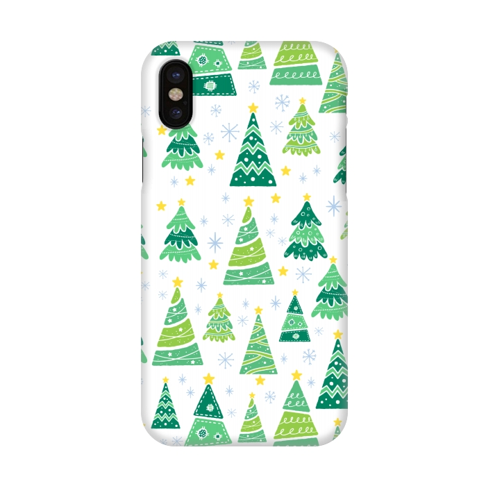 Christmas Iphone X Case.Iphone X Cases Christmas Tree By Mallika Artscase