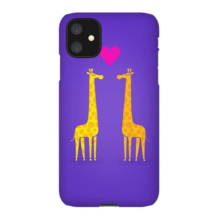 Couple in Love Purple