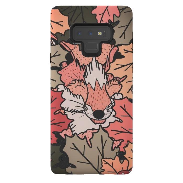 The hidden fox