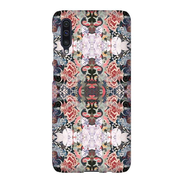 Japanese inspired floral mandala pattern
