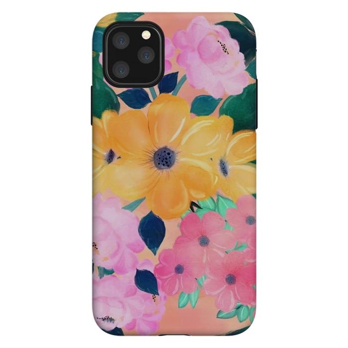 Cute Colorful Romantic Watercolor Flowers