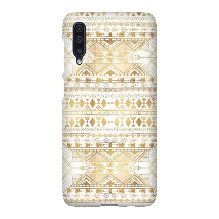Trendy Gold Geometric Tribal Aztec Pattern