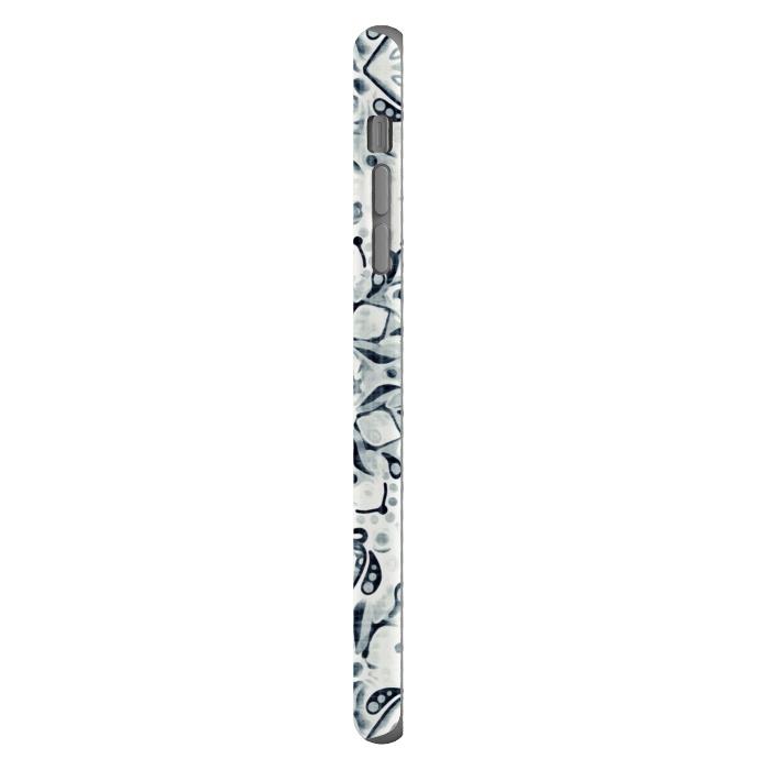 Stained Glass Mandala - Navy & White